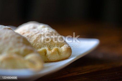 home baked savory empanada