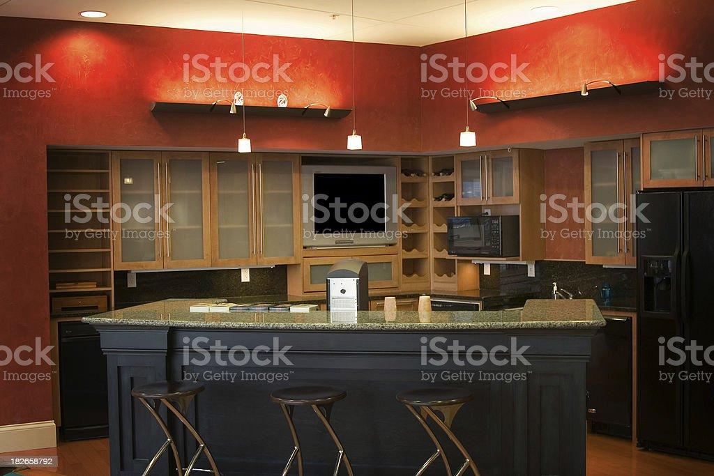 Home bar royalty-free stock photo