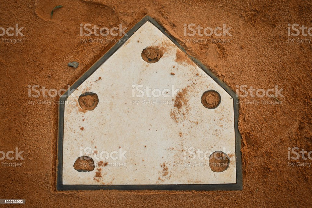 Home Base stock photo