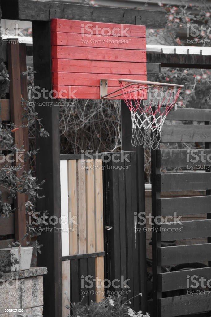 Home Basketball stock photo