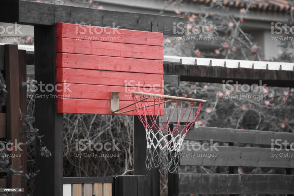 Home Basketball stock photo