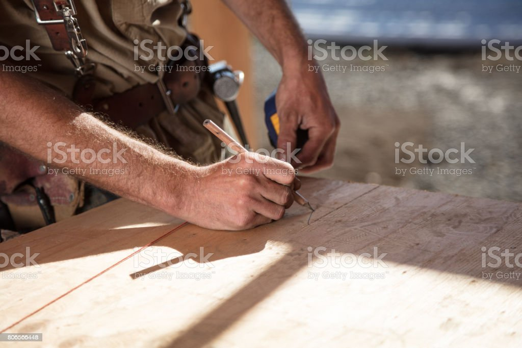 Home Building stock photo