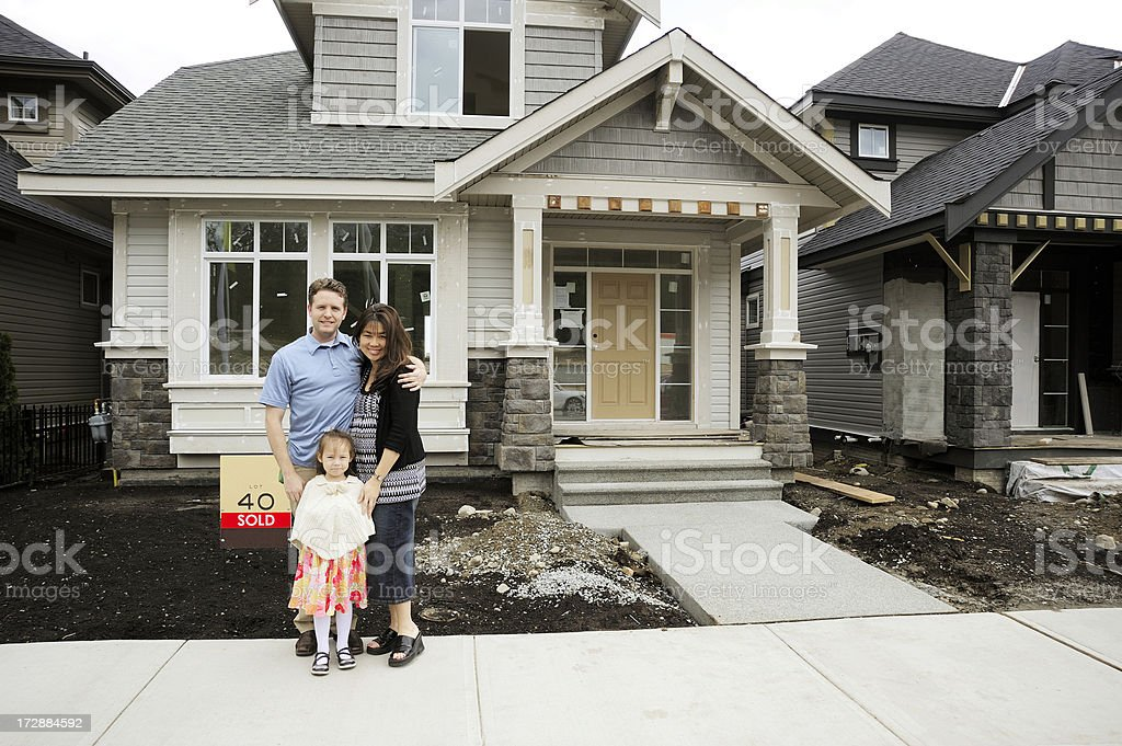 Home Buyers stock photo