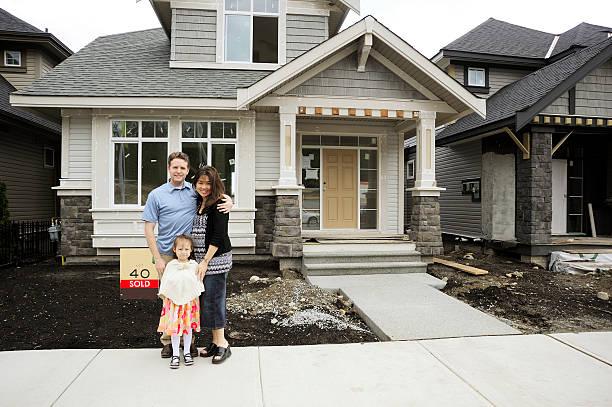 Home Buyers stock photo