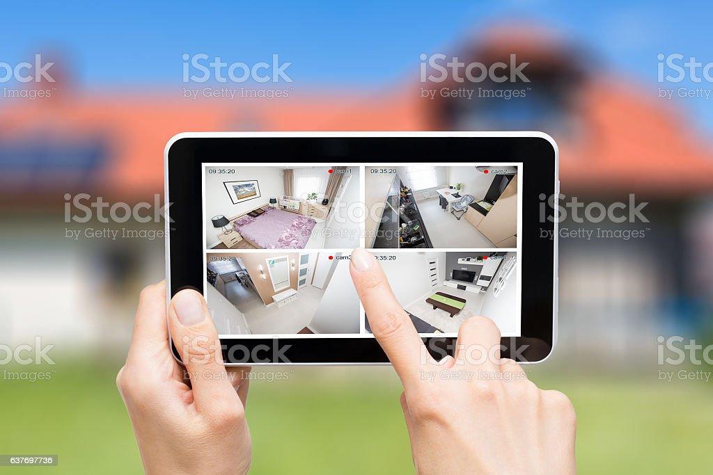 home camera cctv monitoring system alarm smart house video foto