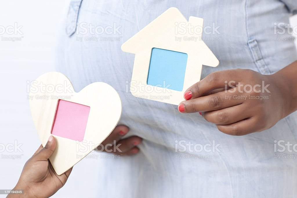 Home care with love. royalty-free stock photo