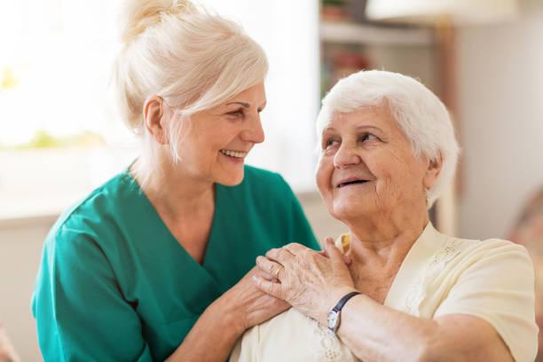 Home caregiver and senior adult woman picture id1145276784?b=1&k=6&m=1145276784&s=612x612&w=0&h=dy3ysfy6nowonhtgtjgvhtonjir9heo7 rztk4xxwjo=