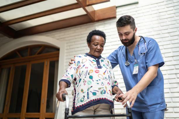 Home caregiver helping senior woman to walk picture id1182643335?b=1&k=6&m=1182643335&s=612x612&w=0&h=fxrgipcomjuvfmbg5dfdtb2o9t23zgxbs0d3yzcnsoe=