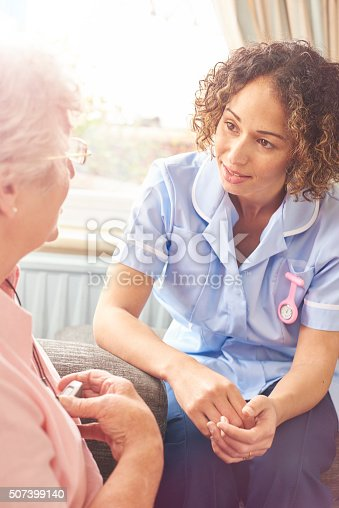 istock home carer visit 507399140
