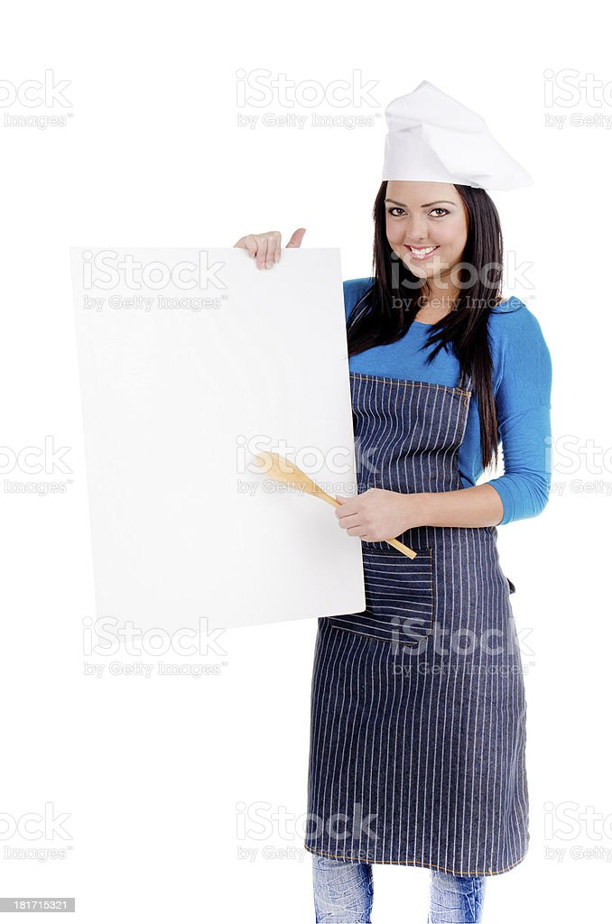 Home Chef royalty-free stock photo
