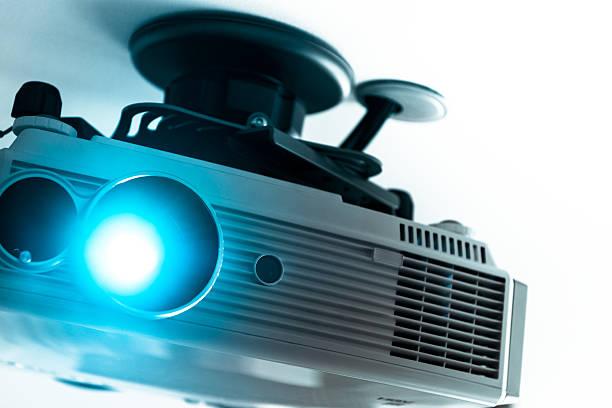 Home cinema projecteur sur le plafond - Photo