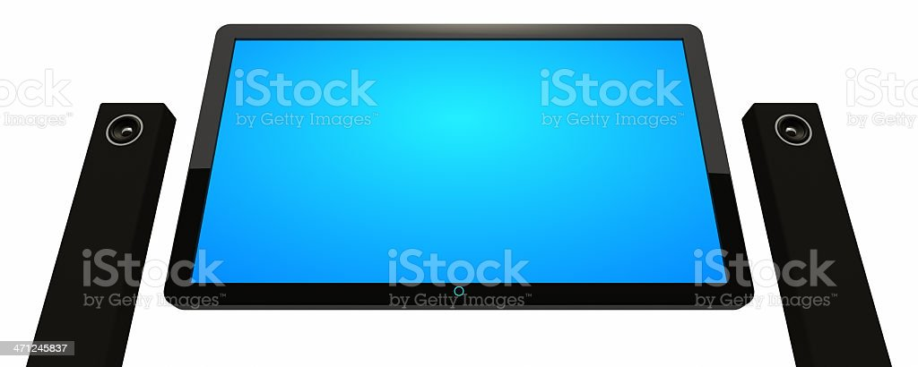 Home Cinema System royalty-free stock photo