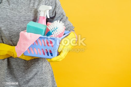 istock home cleaning plastic basket supplies copy space 1129558838