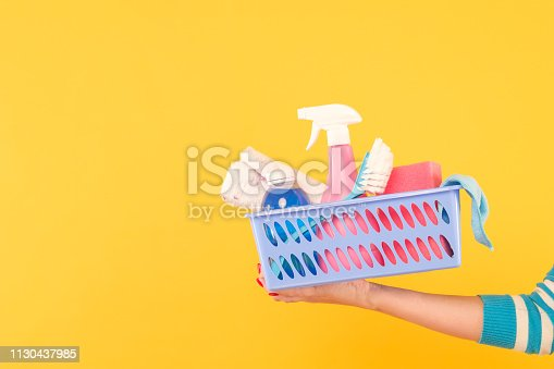 istock home cleaning product housekeeping copy space 1130437985