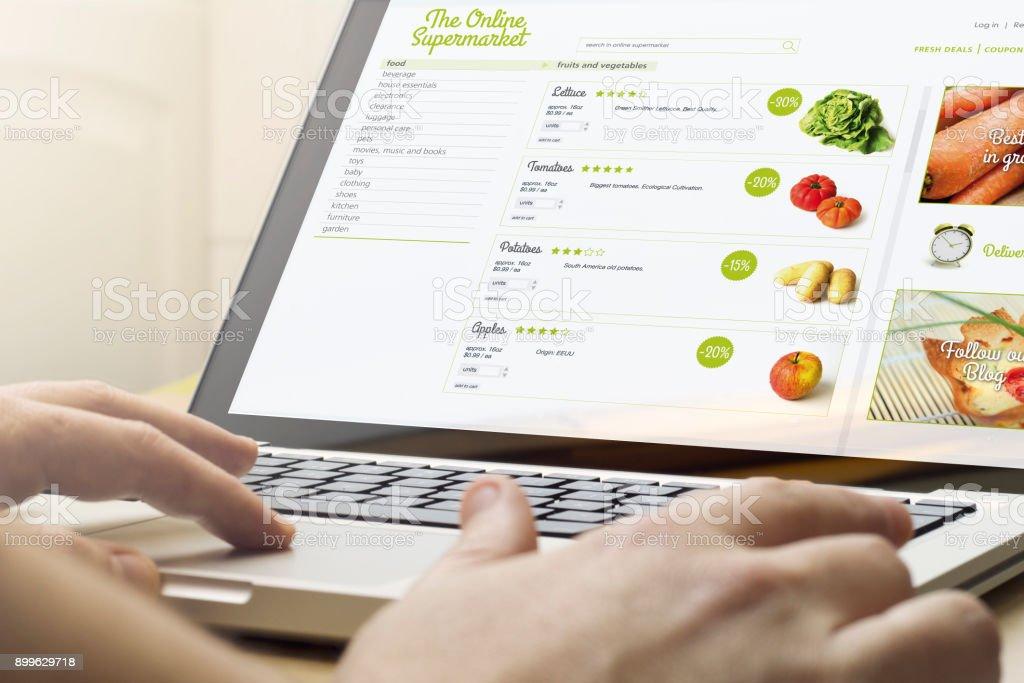 Home computing Online-Supermarkt – Foto