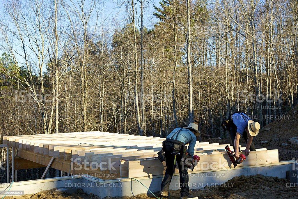 Home Construction stock photo
