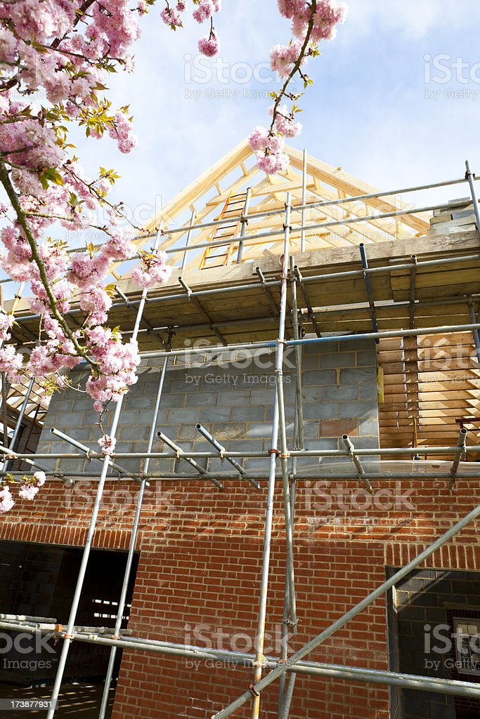 Home Construction Project royalty-free stock photo