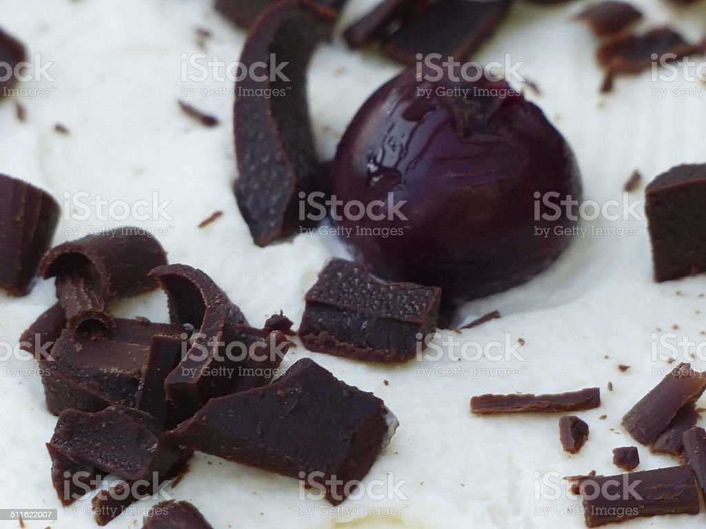 Home Cooking Dessert Black Forest Cake Stock Photo More Pictures