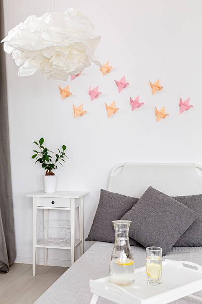 diy home decor idea - do it yourself hochbett stock-fotos und bilder