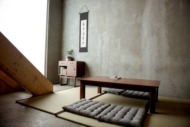 home decor japanese historic style - japanese culture stock pictures, royalty-free photos & images