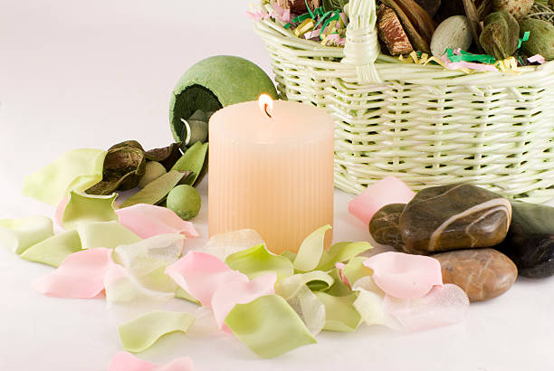 Home Decor Spa Collection stock photo