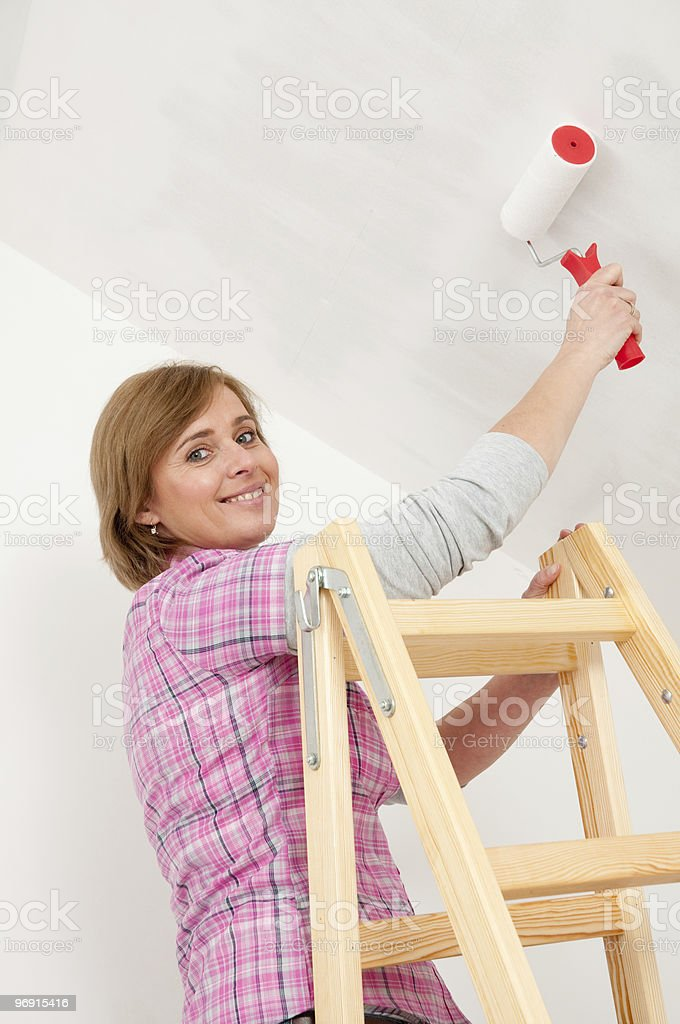 Home Decorating royalty-free stock photo