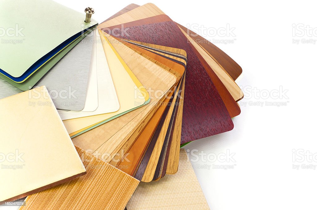 Home decoration planning stock photo