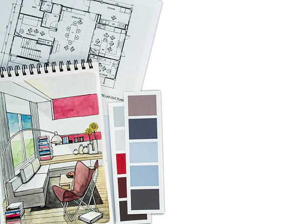 Domu dekoracji wnętrz & remont koncepcja/tekstury i tła – zdjęcie