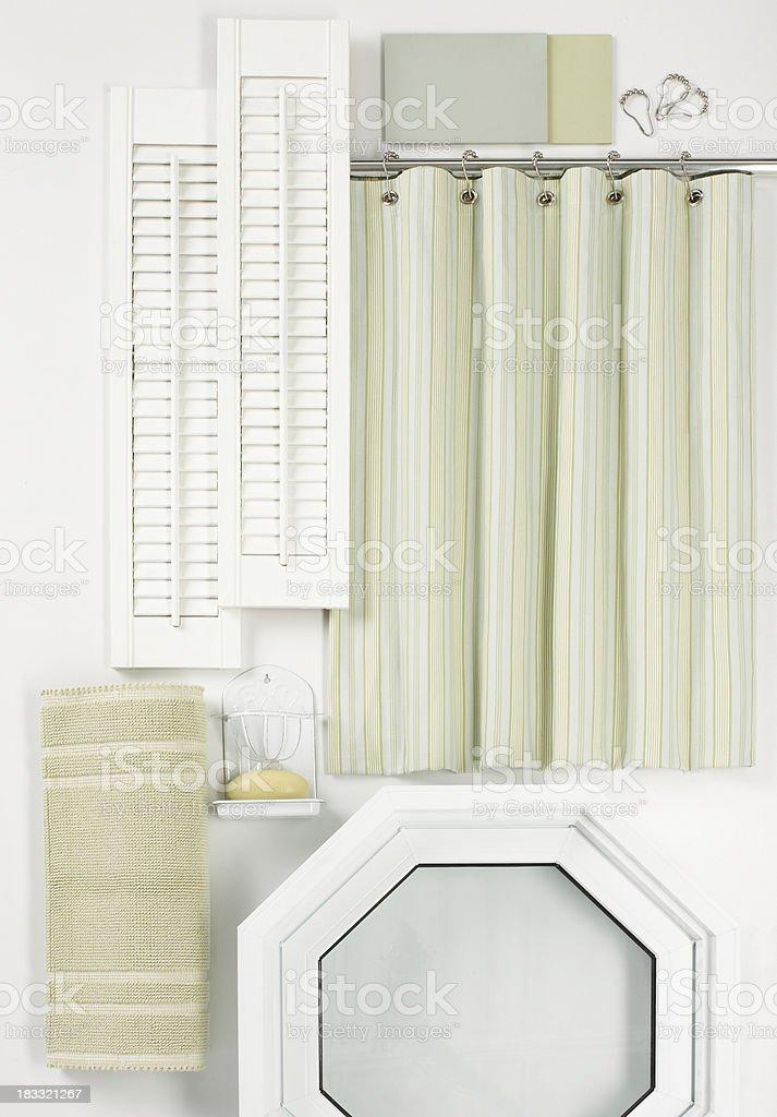 Home Decor-Bathroom Samples stock photo