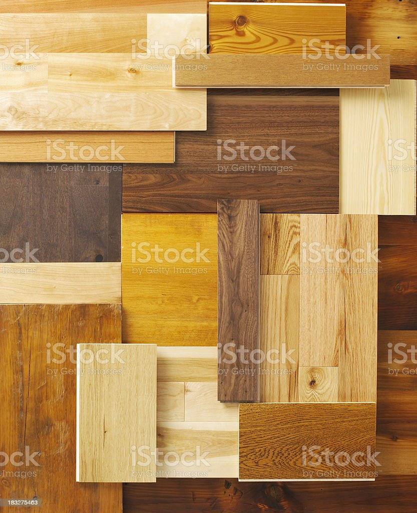 Home Decor-Floor Samples B stock photo