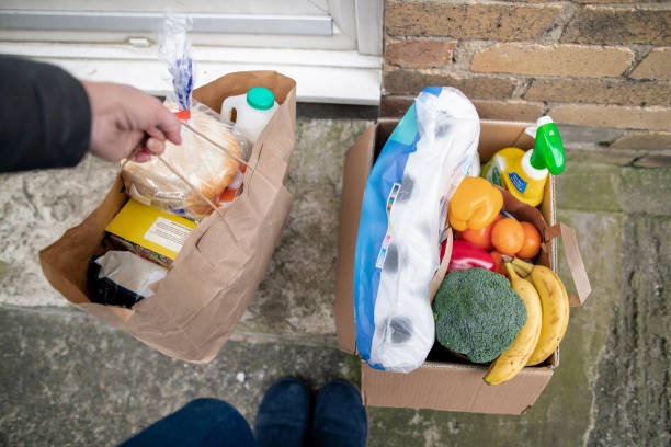 Home Lieferung an die Haustür – Foto