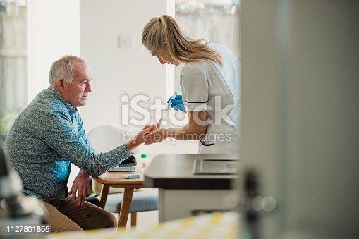 istock Home Diabetes Treatment 1127801655