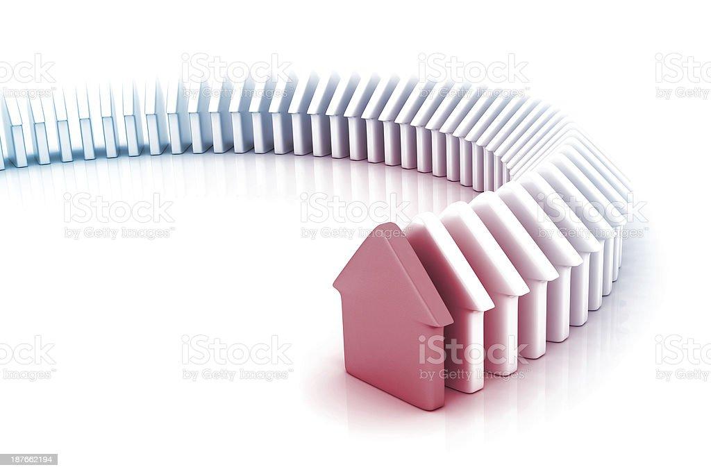 Home Domino royalty-free stock photo