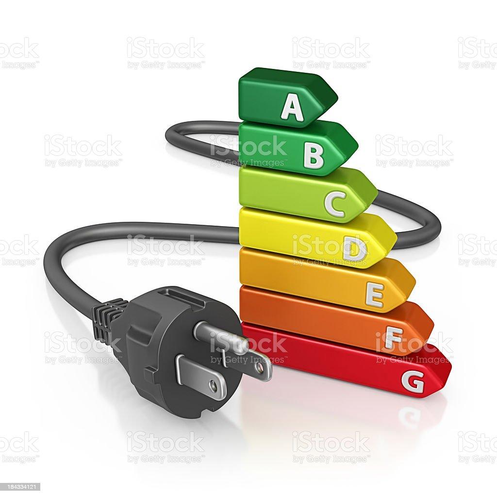 home energy efficiency stock photo