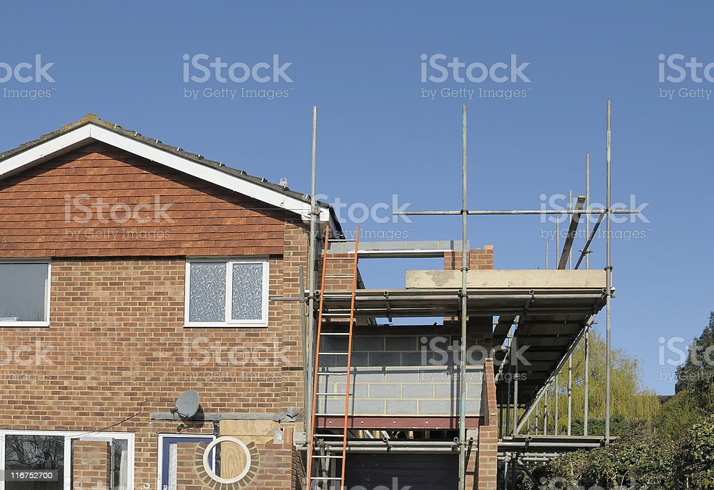 Home Extention stock photo