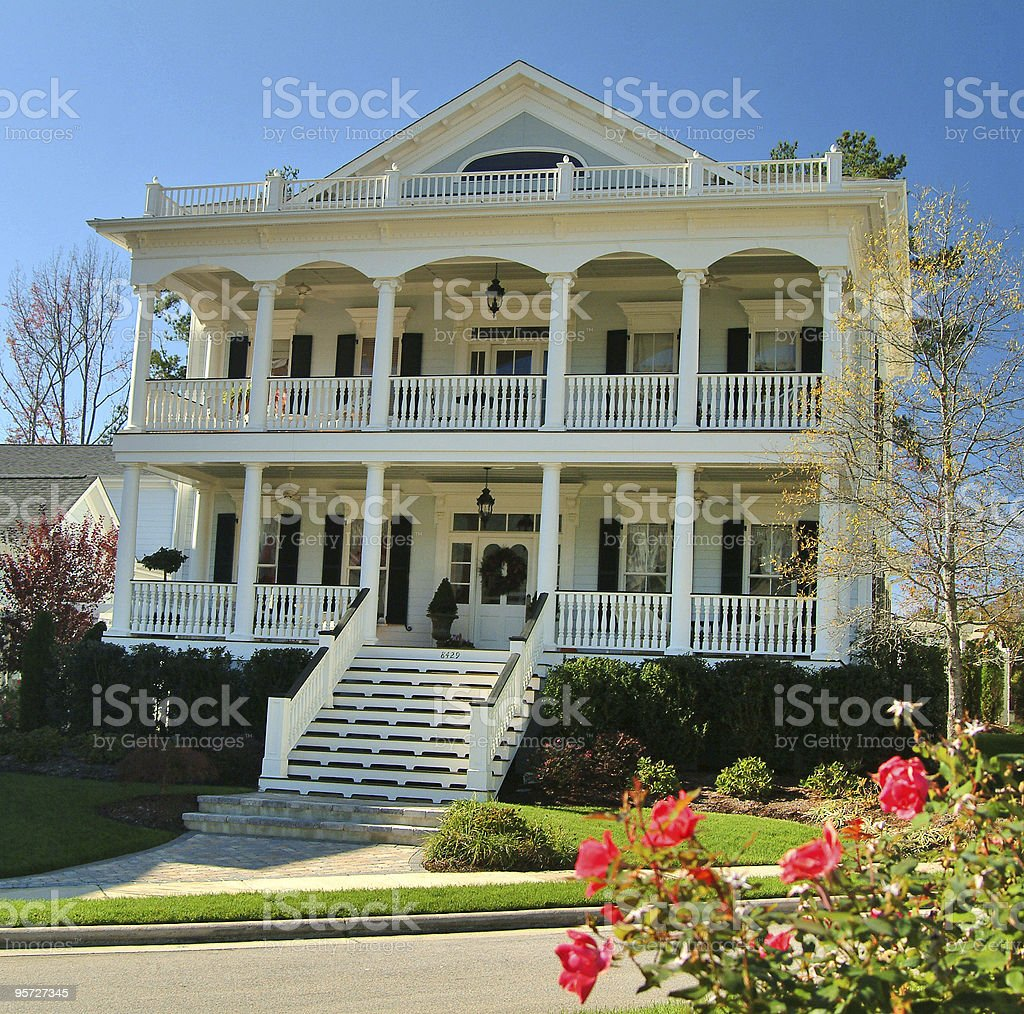 Home Exterior royalty-free stock photo