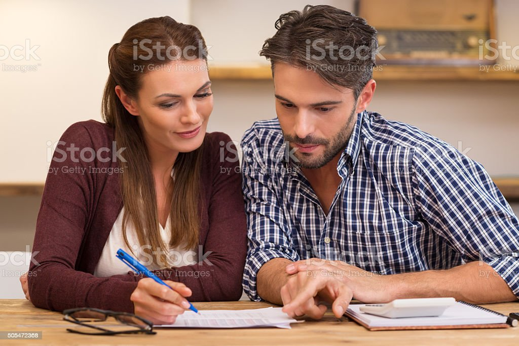Home finance stock photo