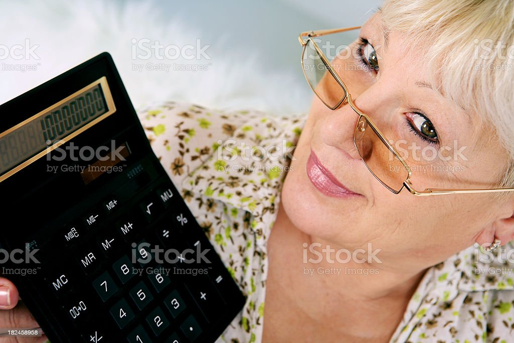 Home finances royalty-free stock photo
