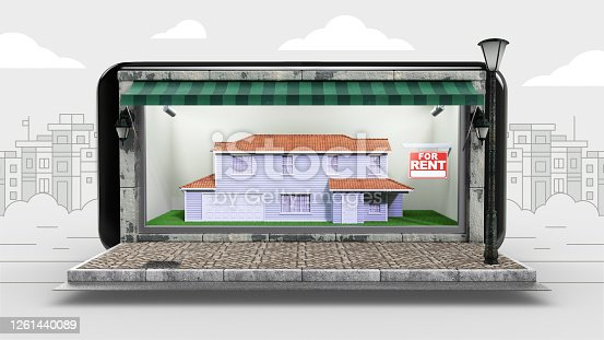 For Rent Sign, House Rental, Renting, House, Internet