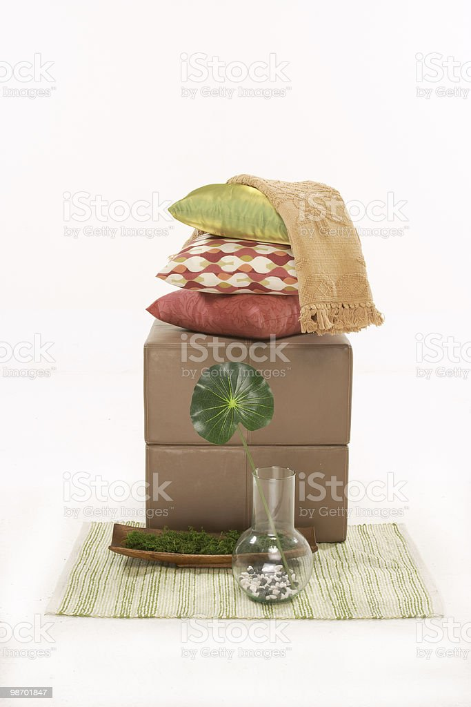 home furnishings and accents royalty-free stock photo