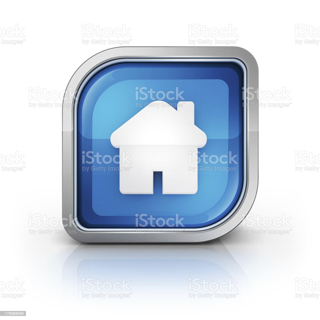 home glossy licon royalty-free stock photo