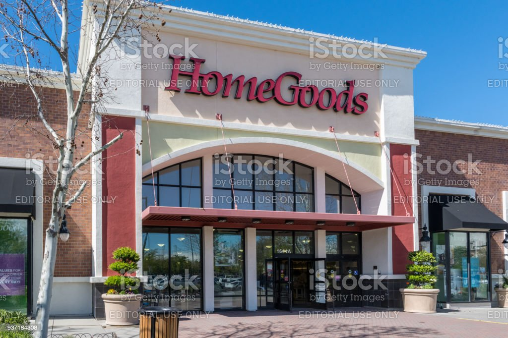 Home Goods Store stock photo