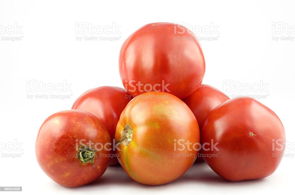 Home Grown Tomatoes royalty-free stock photo