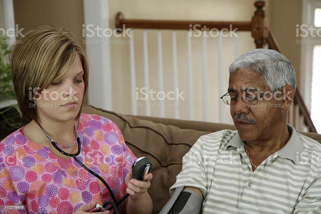 Home Health Care royalty-free stock photo
