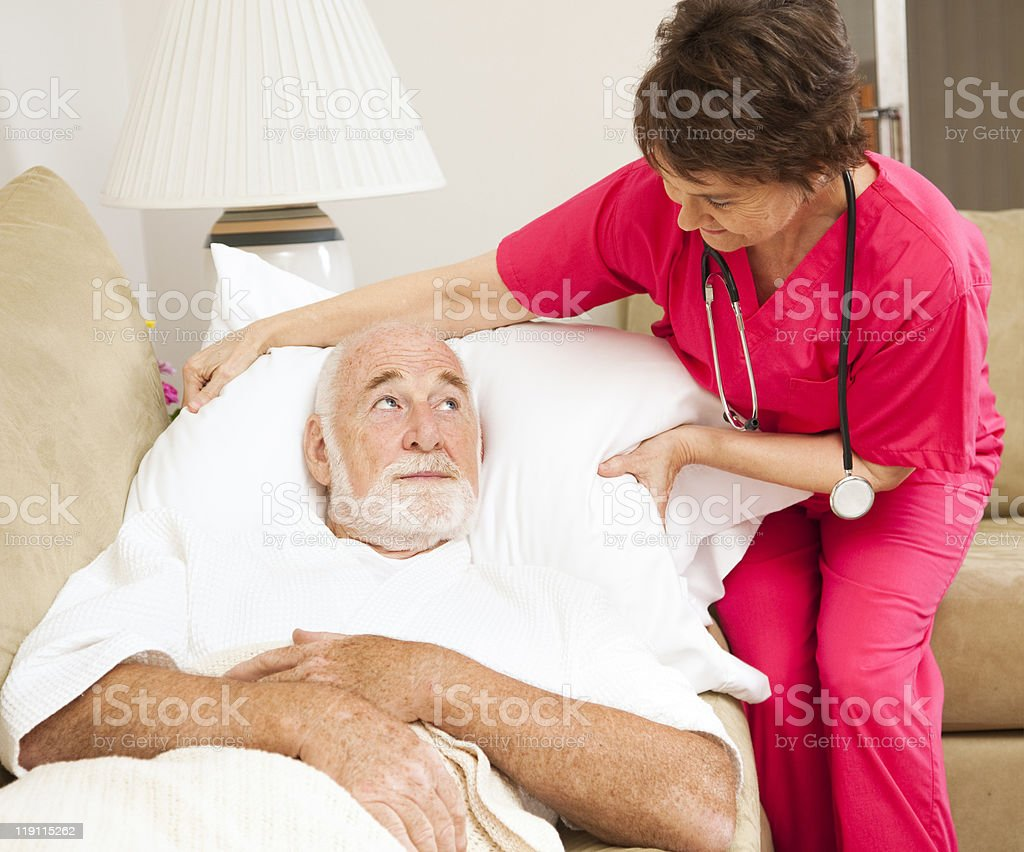 Home Health - Patient Comfort royalty-free stock photo