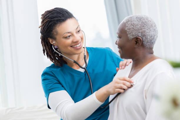 Home healthcare nurse checks patients lungs picture id936497024?b=1&k=6&m=936497024&s=612x612&w=0&h=ufgqwbjohj3hpvogzaweq6hslnssnzpbtkzrk41 oqm=