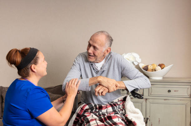 Home Healthcare stock photo