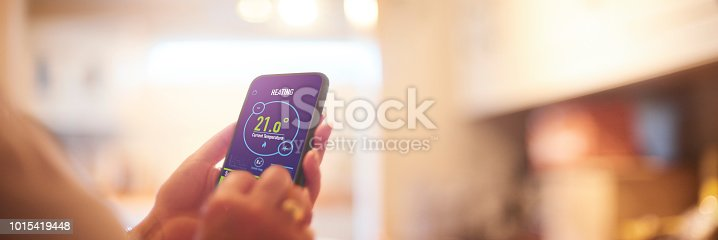 Smart Home heating controls app