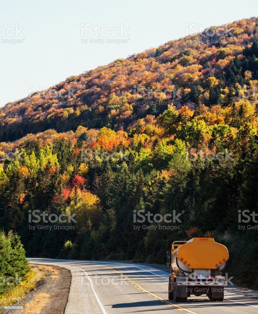 Home Heating Autumn stock photo