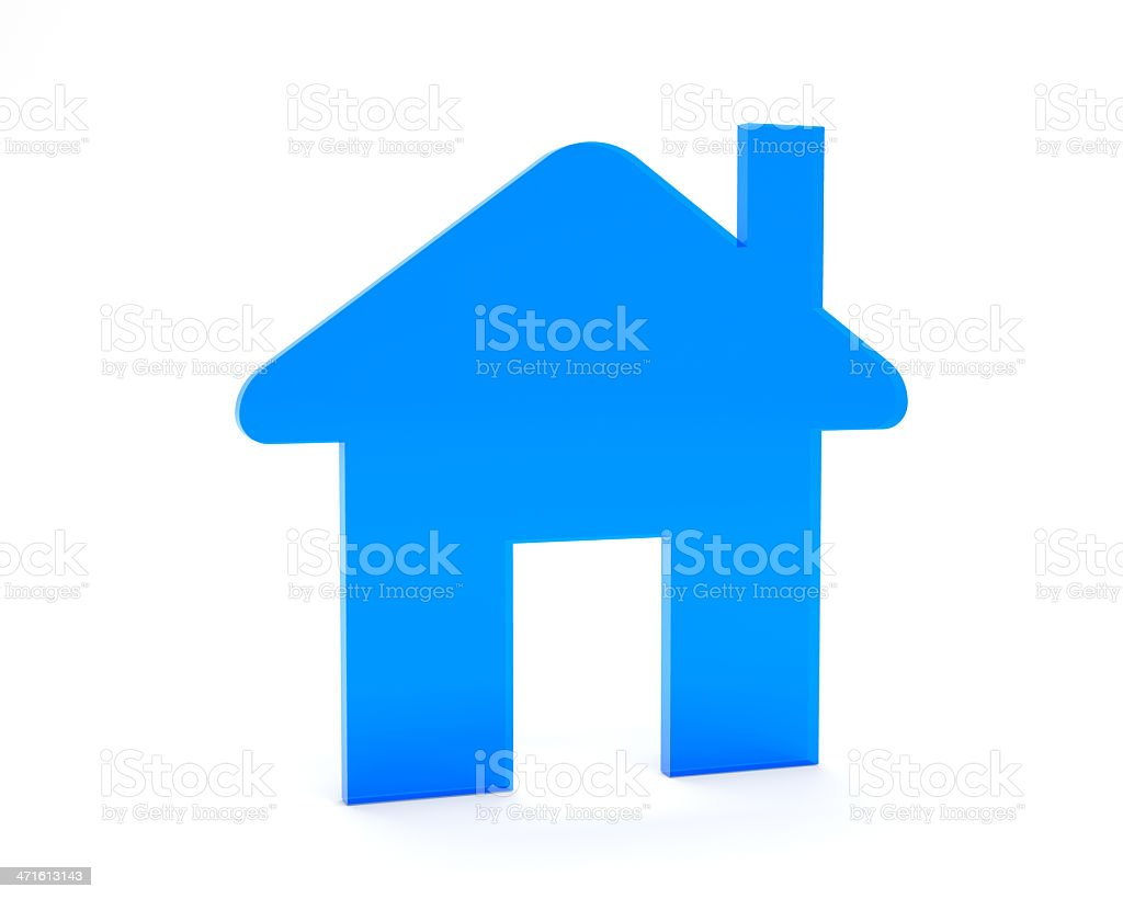 Home Icon royalty-free stock photo